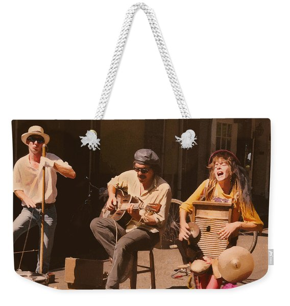 Sounds Of New Orleans Weekender Tote Bag