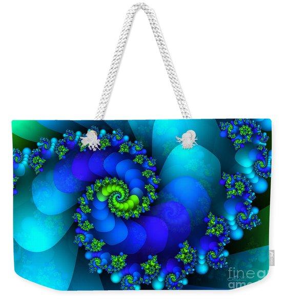 Source Of Life Weekender Tote Bag