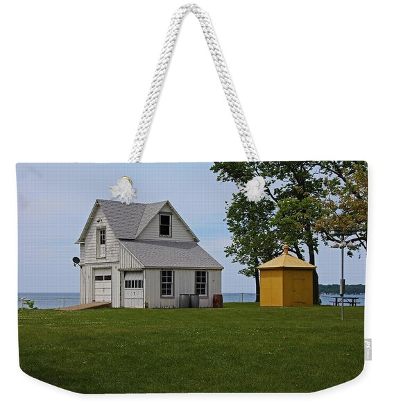South Bass Island Lighthouse Barn And Oil Storage Building I Weekender Tote Bag
