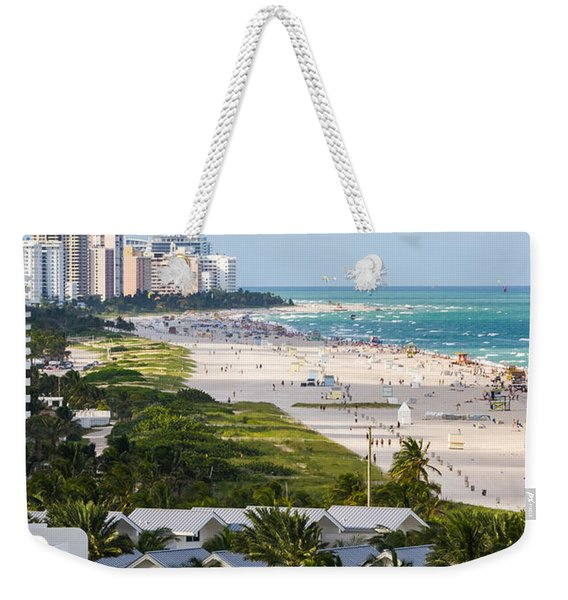 South Beach Late Afternoon Weekender Tote Bag