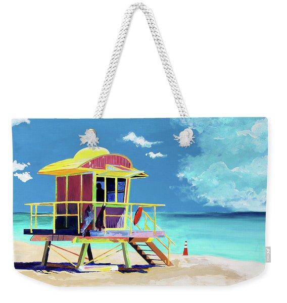 South Beach Weekender Tote Bag