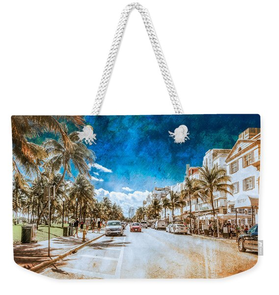 South Beach Road Weekender Tote Bag