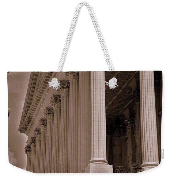 South Carolina State House Columns  Weekender Tote Bag