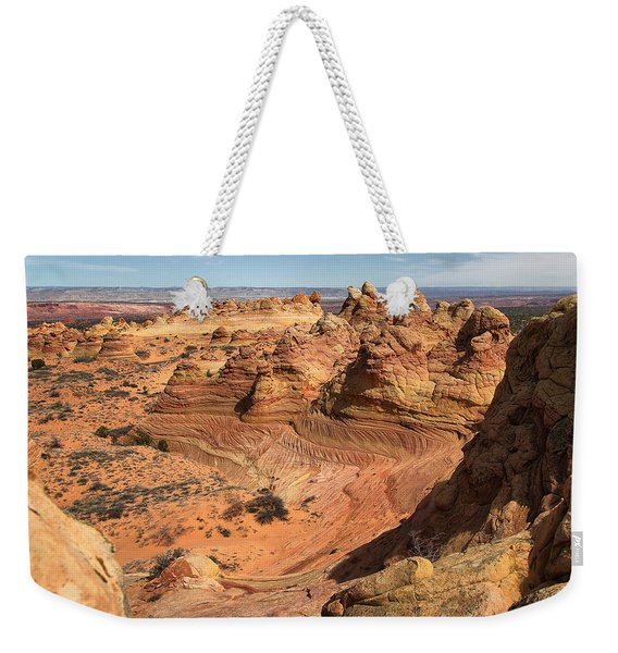 South Coyote Buttes Weekender Tote Bag