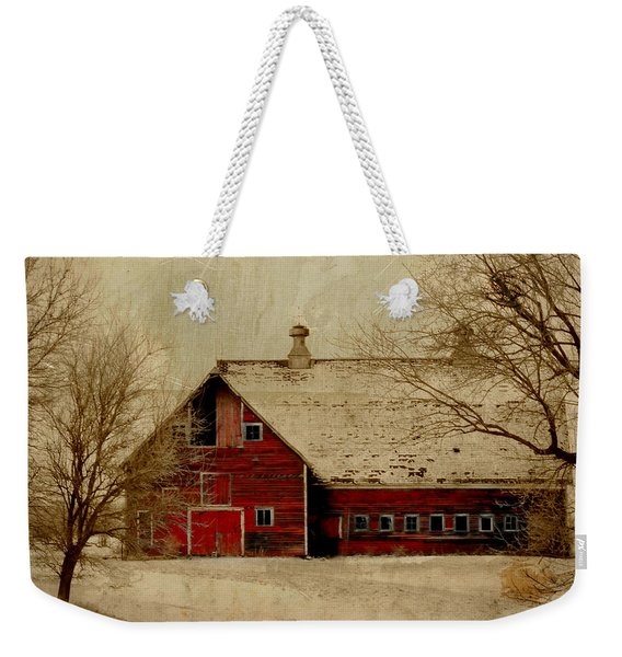 South Dakota Barn Weekender Tote Bag