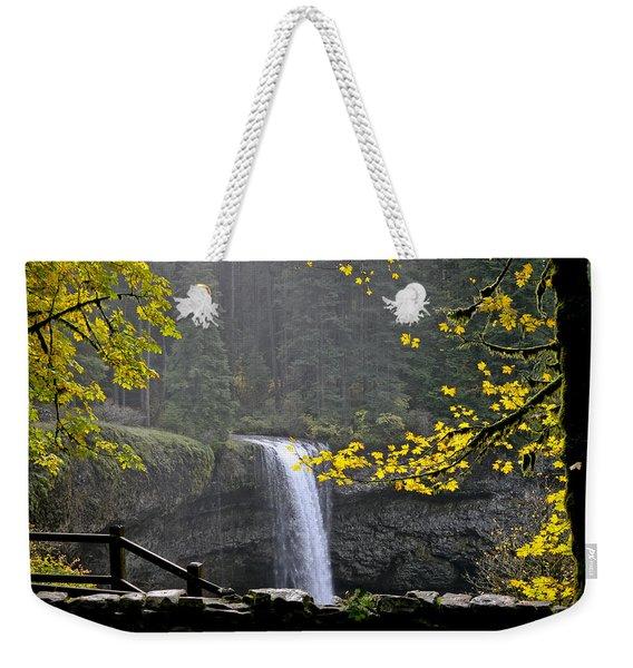 South Falls Of Silver Creek Weekender Tote Bag