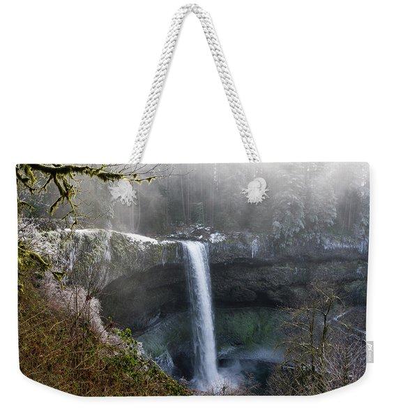 South Falls Shroud Weekender Tote Bag