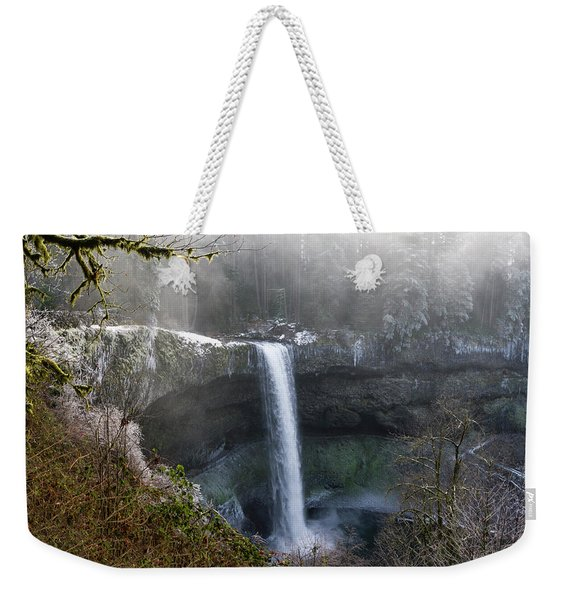 South Falls Shroud Weekender Tote Bag