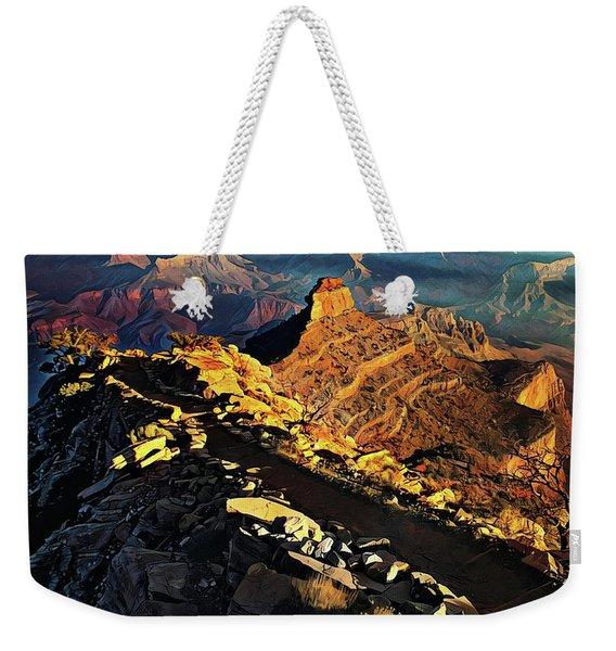 South Kaibab Trail - Grand Canyon Weekender Tote Bag