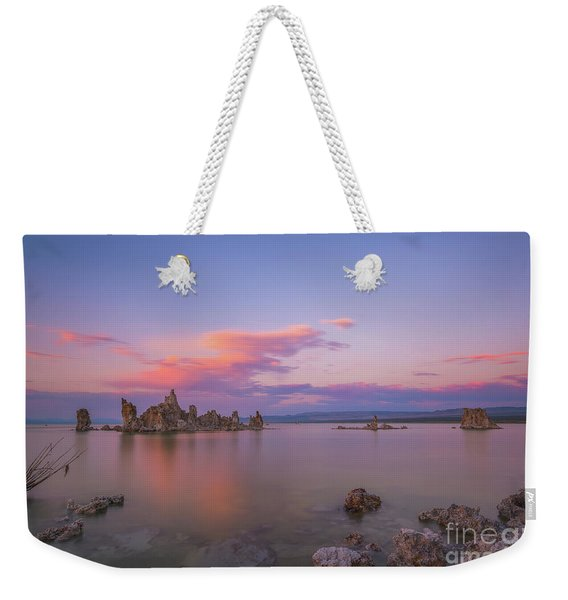 South Tufa Sunset  Weekender Tote Bag