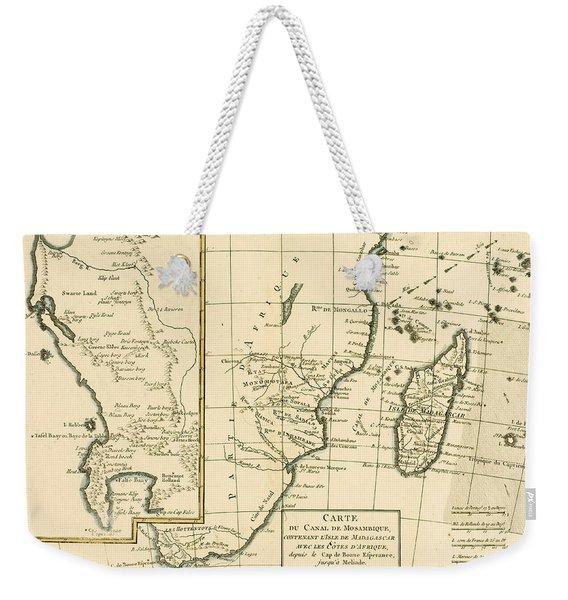 Southern Africa Weekender Tote Bag