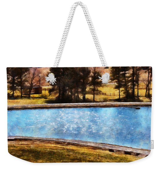 Southern Farmlands Weekender Tote Bag