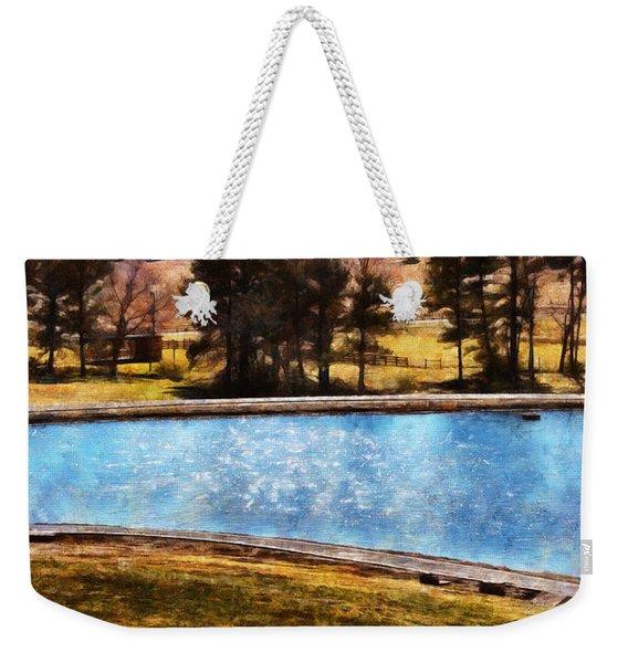 Southern Farmlands Weekender Tote Bag