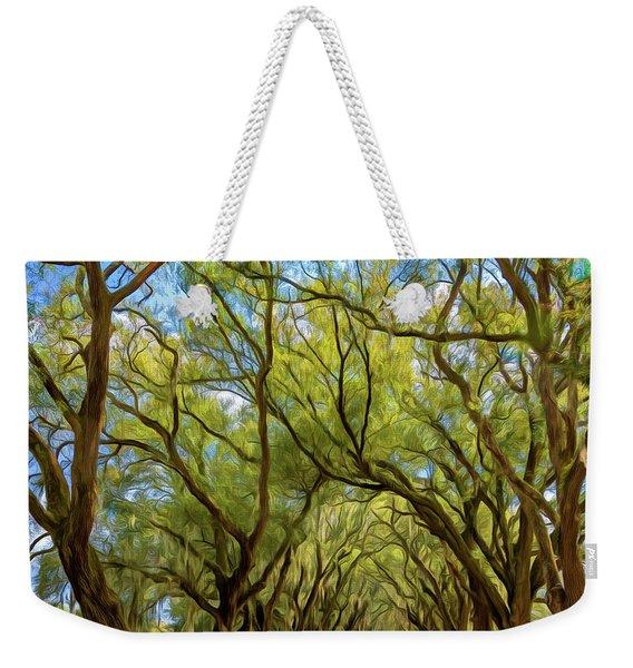 Southern Lane 3 - Paint Weekender Tote Bag