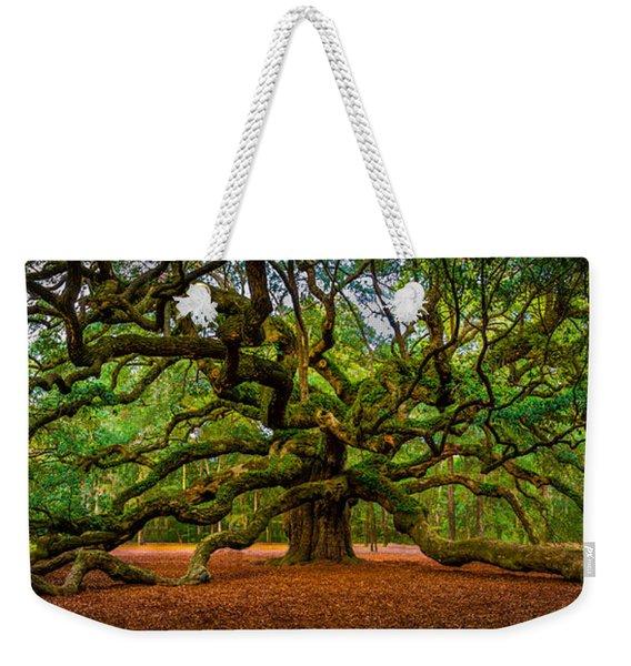 Angel Oak In Charleston Weekender Tote Bag
