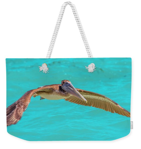 Southern Most Pelican Weekender Tote Bag