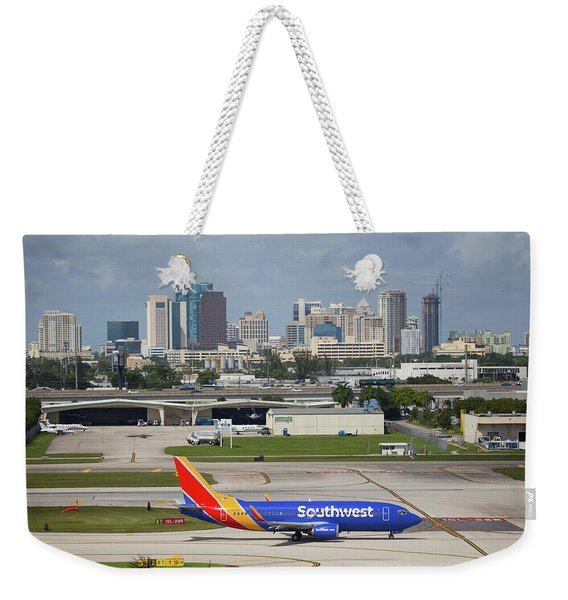 Southwest @ Fort Lauderdale Weekender Tote Bag