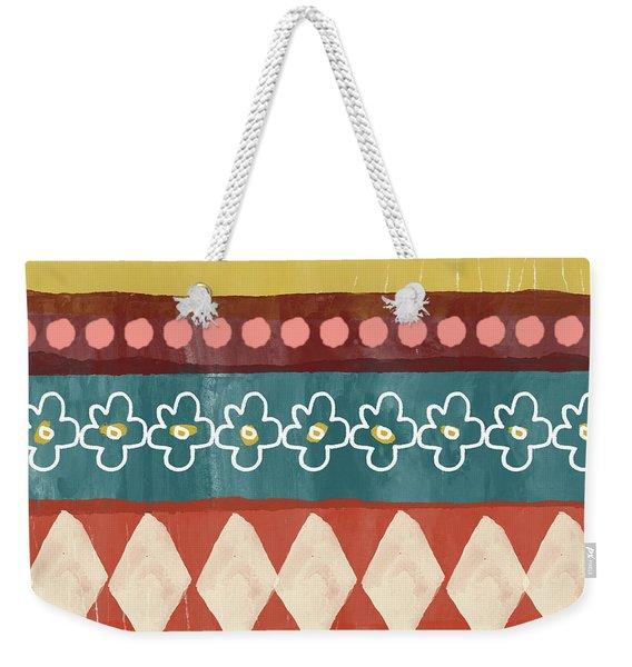 Southwest 3- Art By Linda Woods Weekender Tote Bag