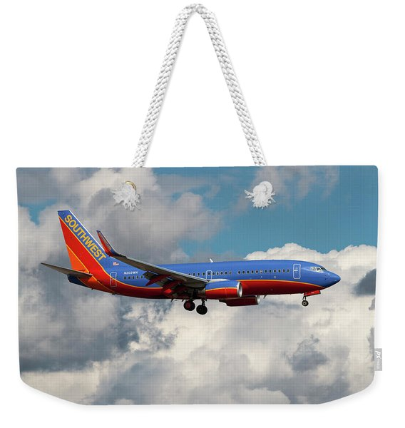 Southwest Airlines Boeing 737-700 Weekender Tote Bag