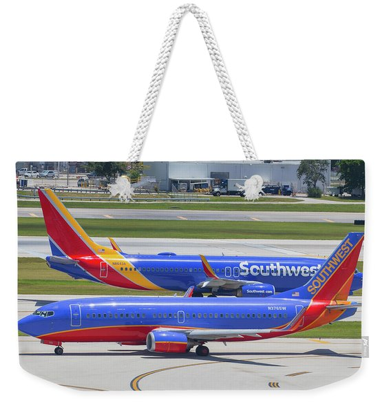 Southwest By Southwest Weekender Tote Bag