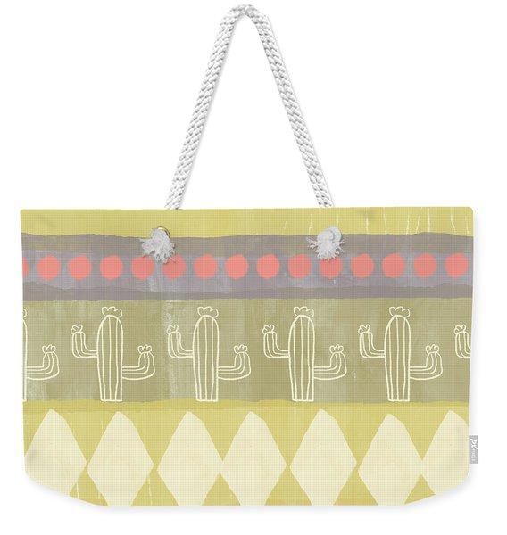 Southwest Cactus Decorative- Art By Linda Woods Weekender Tote Bag