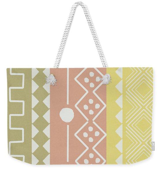 Southwest Decorative Design 6- Art By Linda Woods Weekender Tote Bag