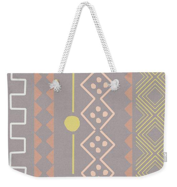 Southwest Decorative Design 7- Art By Linda Woods Weekender Tote Bag