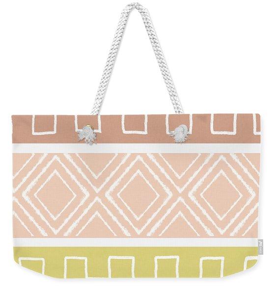 Southwest Decorative Design 8- Art By Linda Woods Weekender Tote Bag
