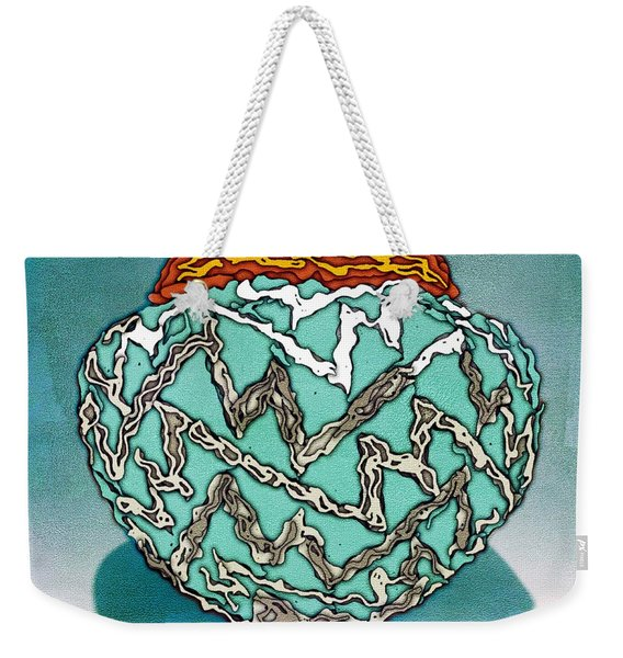 Southwest Pottery Art Weekender Tote Bag