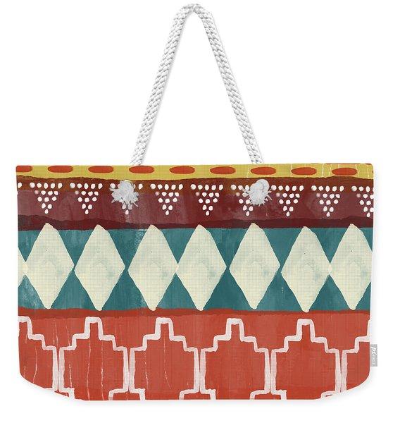 Southwestern 1- Art By Linda Woods Weekender Tote Bag