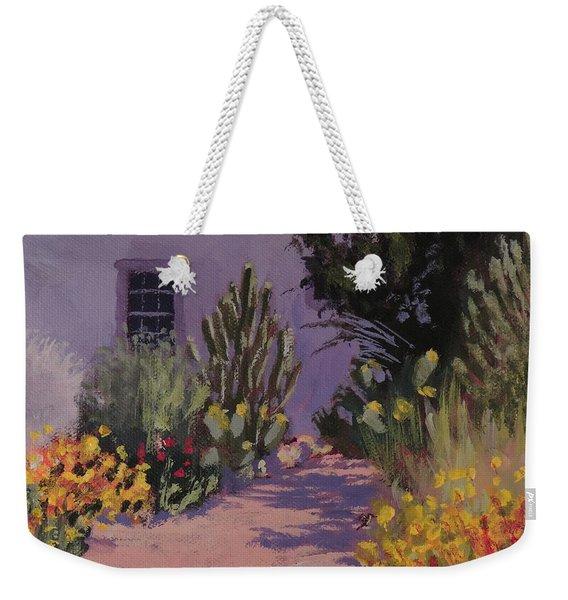 Southwestern Garden Path - Art By Bill Tomsa Weekender Tote Bag