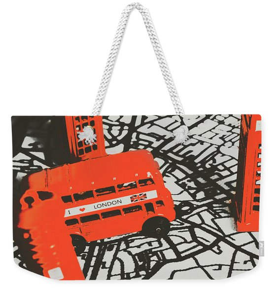 Souveniring Capital England  Weekender Tote Bag