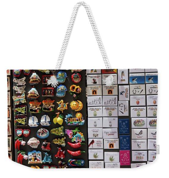Souvenirs Weekender Tote Bag