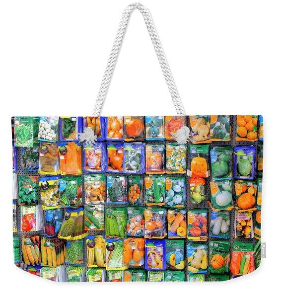 Sowing The Seeds Weekender Tote Bag