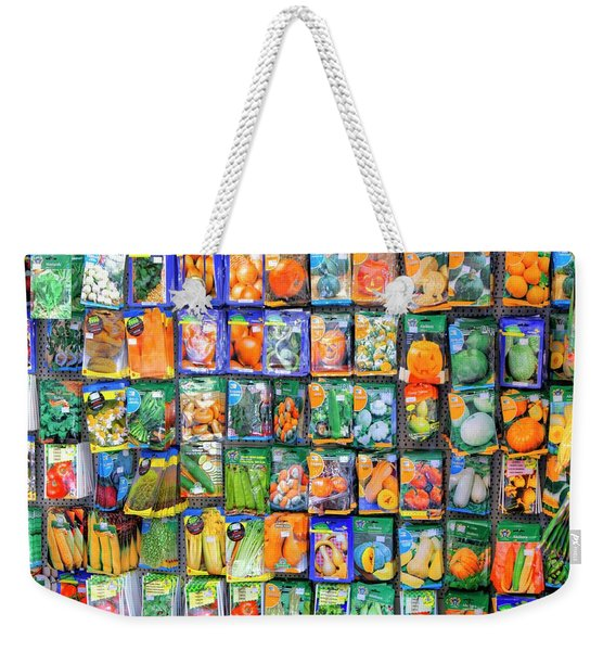 Sowing The Seeds Weekender Tote Bag