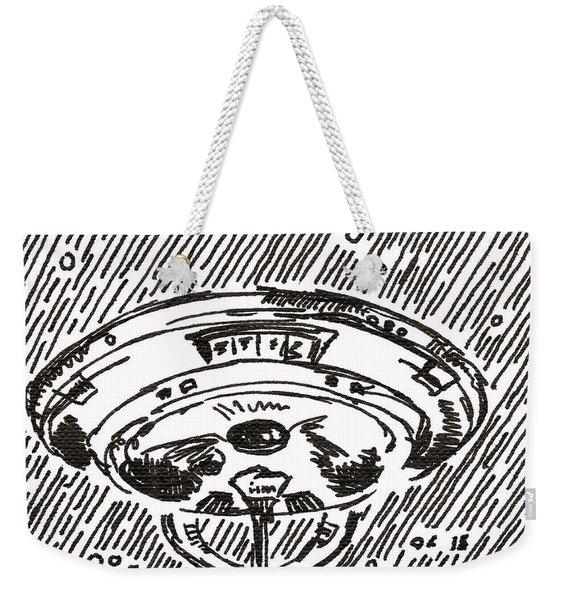 Space 2 2015 - Aceo Weekender Tote Bag