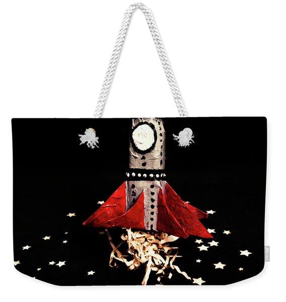 Space Craft Weekender Tote Bag