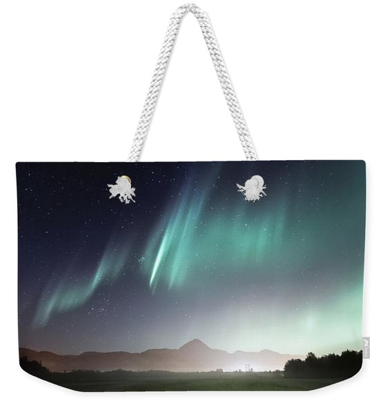Space Farm Weekender Tote Bag