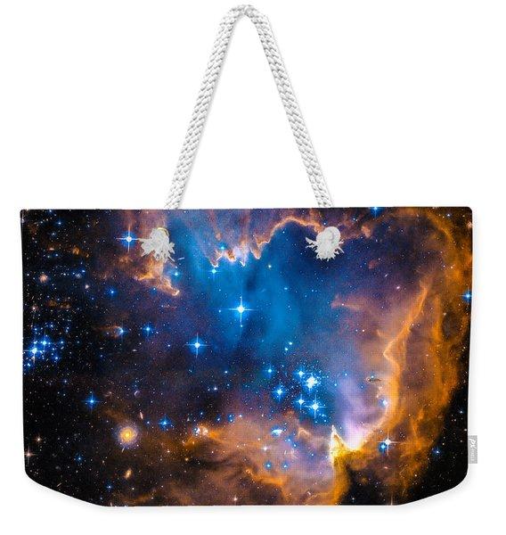Space Image - New Stars And Nebula Weekender Tote Bag