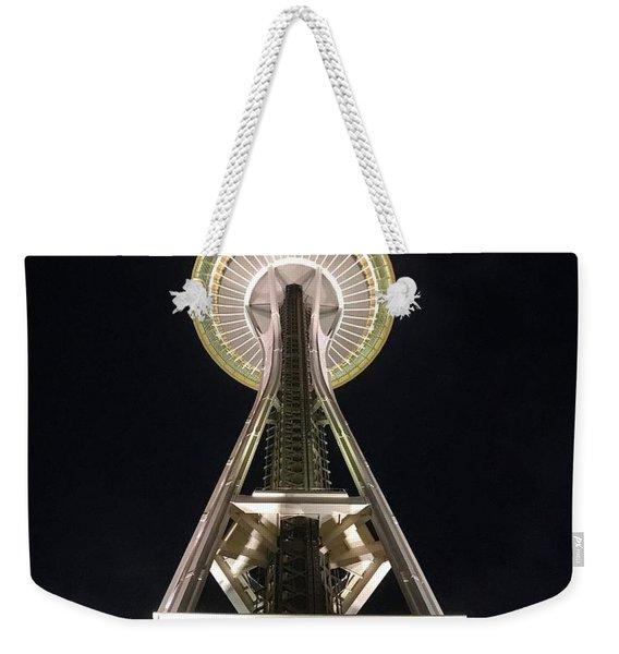 Space Needle Weekender Tote Bag