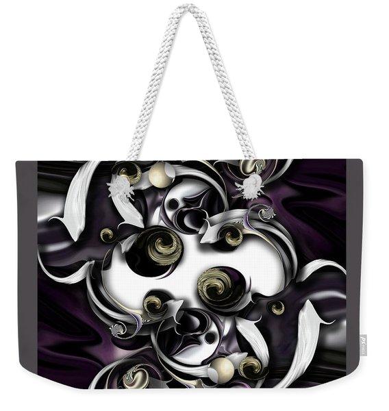 Space Or Expression Weekender Tote Bag