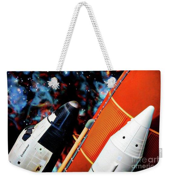 Space Shuttle Weekender Tote Bag