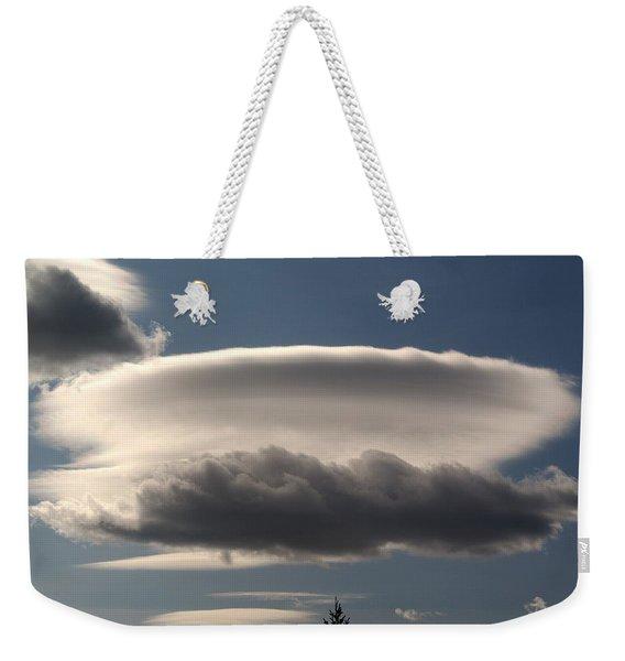 Spacecloud Weekender Tote Bag