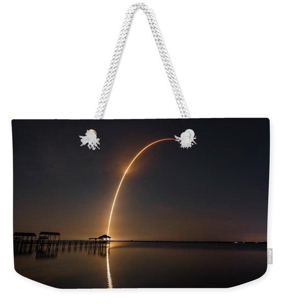Spacex Falcon 9 Weekender Tote Bag