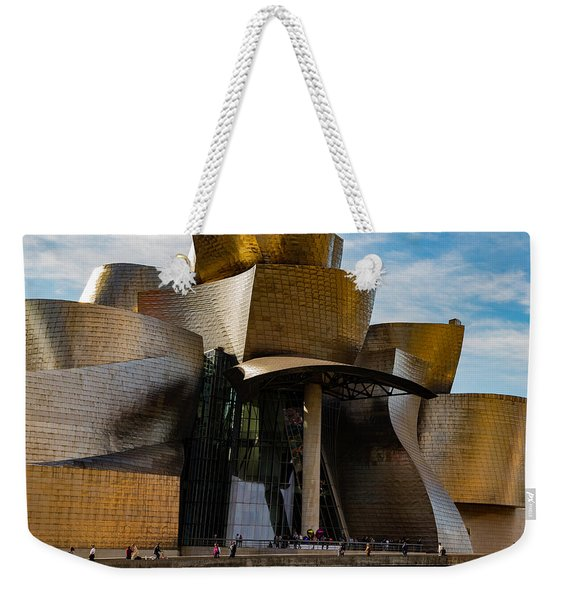 The Guggenheim Museum Spain Bilbao  Weekender Tote Bag