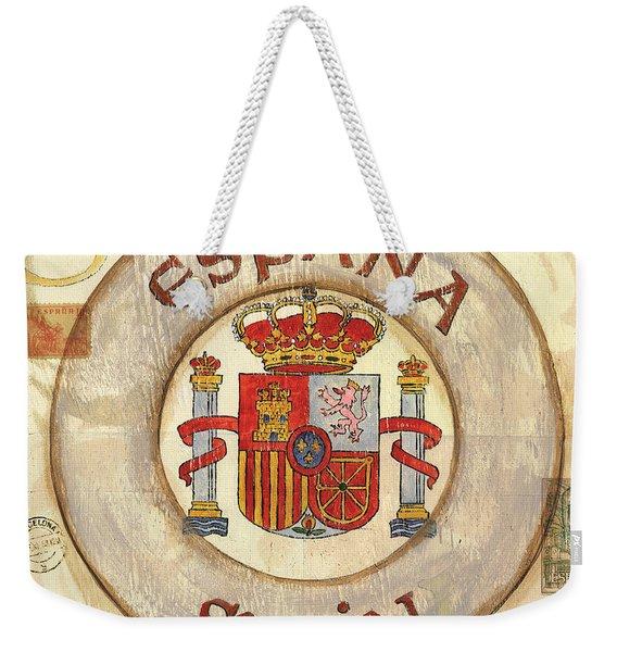 Spain Coat Of Arms Weekender Tote Bag