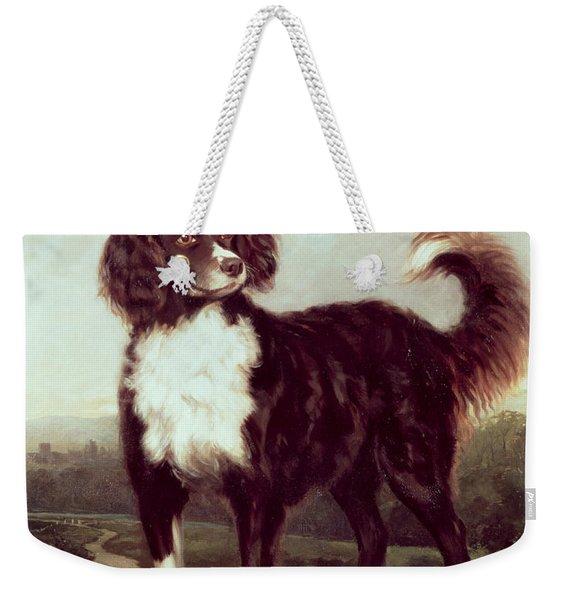 Spaniel Weekender Tote Bag
