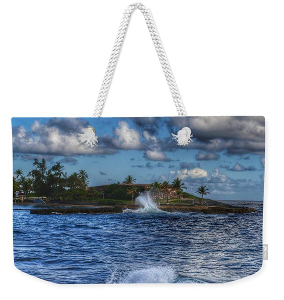 Spanish Fort  Weekender Tote Bag