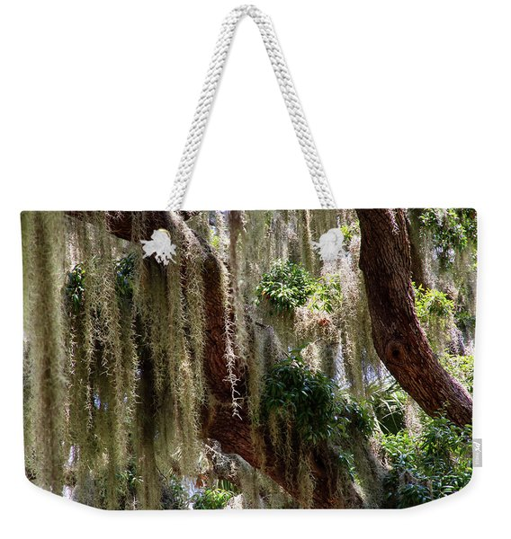 Spanish Moss Cascade Weekender Tote Bag