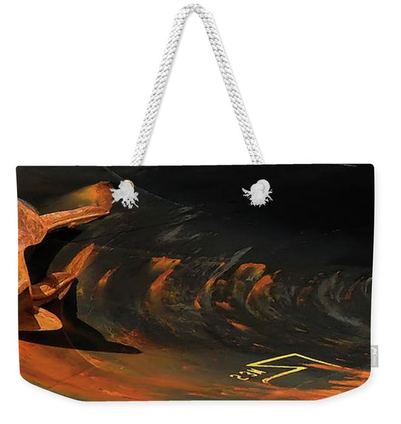 Spar Abstract Weekender Tote Bag